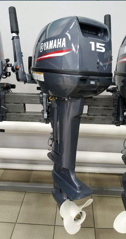 Yamaha 15 Hp 2 Stroke Outboard Engine Short Shaft